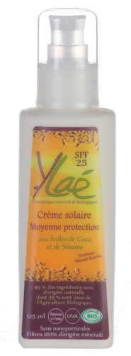 Crème solaire Moyenne protection SPF 25
