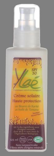 Crème solaire Haute protection SPF 30